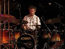 Bill Bruford, Moers Festival 2004, Germania