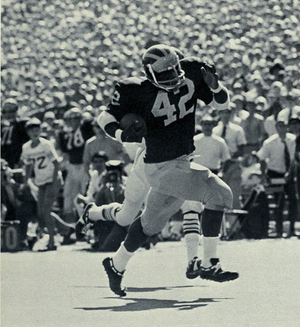 1970 All-Big Ten Conference football team - Michigan running back Billy Taylor