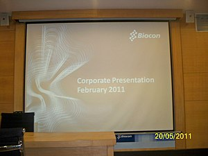 Biocon - Biocon Corporate Presentation