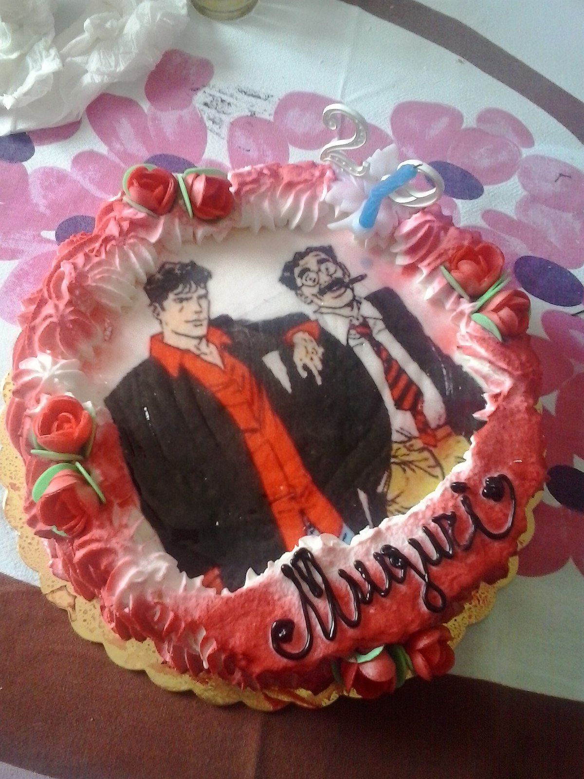 Incredible File Birthday Cake Of Dylan Dog 05 Wikimedia Commons Funny Birthday Cards Online Alyptdamsfinfo