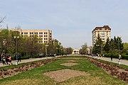 Bishkek 03-2016 img26 alley at the National University.jpg