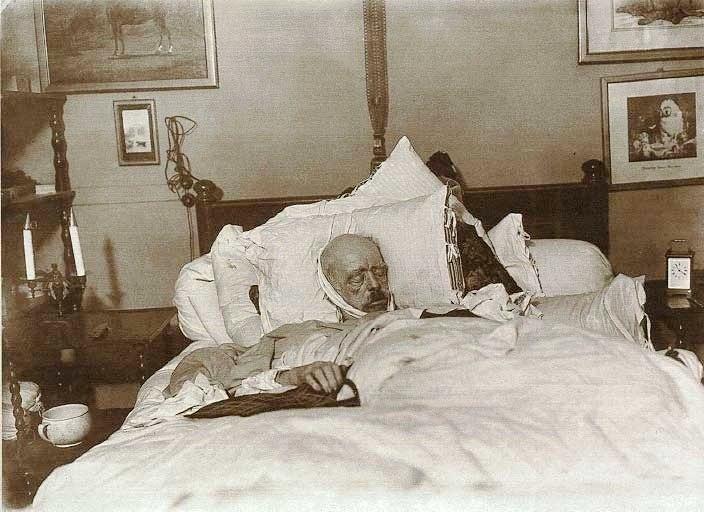 Bismarck auf dem Totenbett