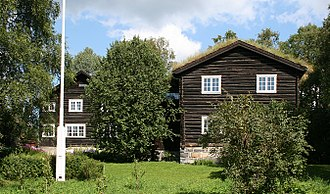 Sigrid Undset - Bjerkebæk, Undset's home, now part of Maihaugen museum