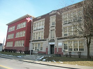 Riverside Institute of Technology - School 51, where some Riverside students were housed during its reconstruction