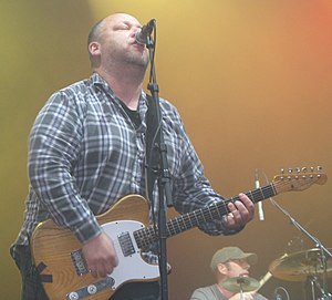 Black Francis - Francis performing in Stockholm, 2009