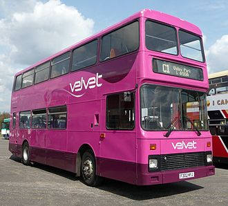 Velvet (bus company) - Northern Counties Palatine bodied Volvo B10M in April 2009