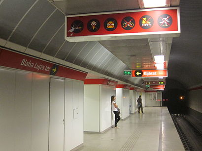 How to get to Blaha Lujza Tér M with public transit - About the place