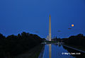 Blue Moon Rising Over The Lincoln Memorial Reflecting Pool (7909543292).jpg