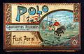 Boîte métallique Polo Félix Potin, gaufrettes Fourrées au praliné - manufacture de biscuits, photo 1.JPG