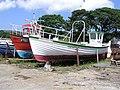 Boat repair yard, Greencastle, Co. Donegal (2) - geograph.org.uk - 1124257.jpg