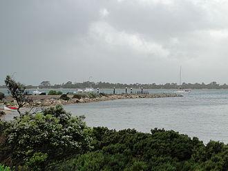 American River, South Australia - Boats at American River