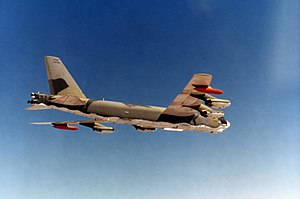 1968 Thule Air Base B-52 crash - A B-52G, similar to the one that crashed at Thule Air Base