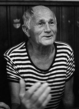 Bohumil Hrabal 1985 český spisovatel foto Hana Hamplová
