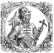 Boleslaus III of Poland in Sarmatiae Evropeae Descriptio