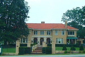 National Register of Historic Places listings in Gwinnett County, Georgia - Image: Bona Allen Mansion