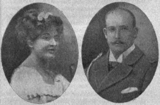 Prince George of Greece and Denmark - Marie Bonaparte and George