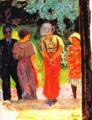 Bonnard Pierre, 1922 - Conversation dans le Parc.png