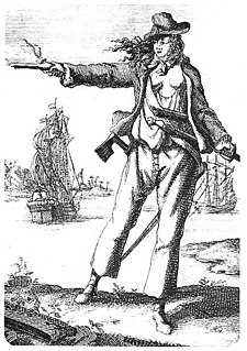 Anne Bonny Irish pirate