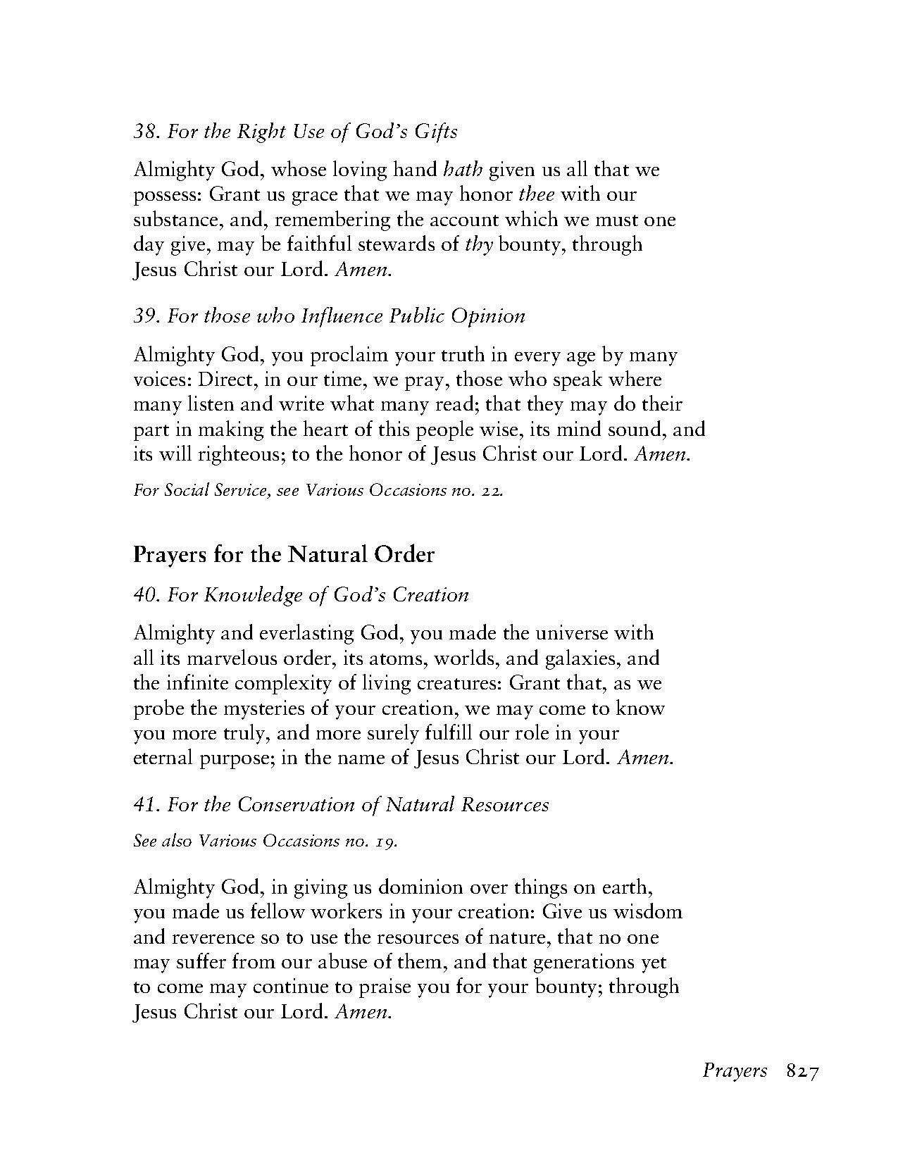 Prayer to the Lord God for all occasions