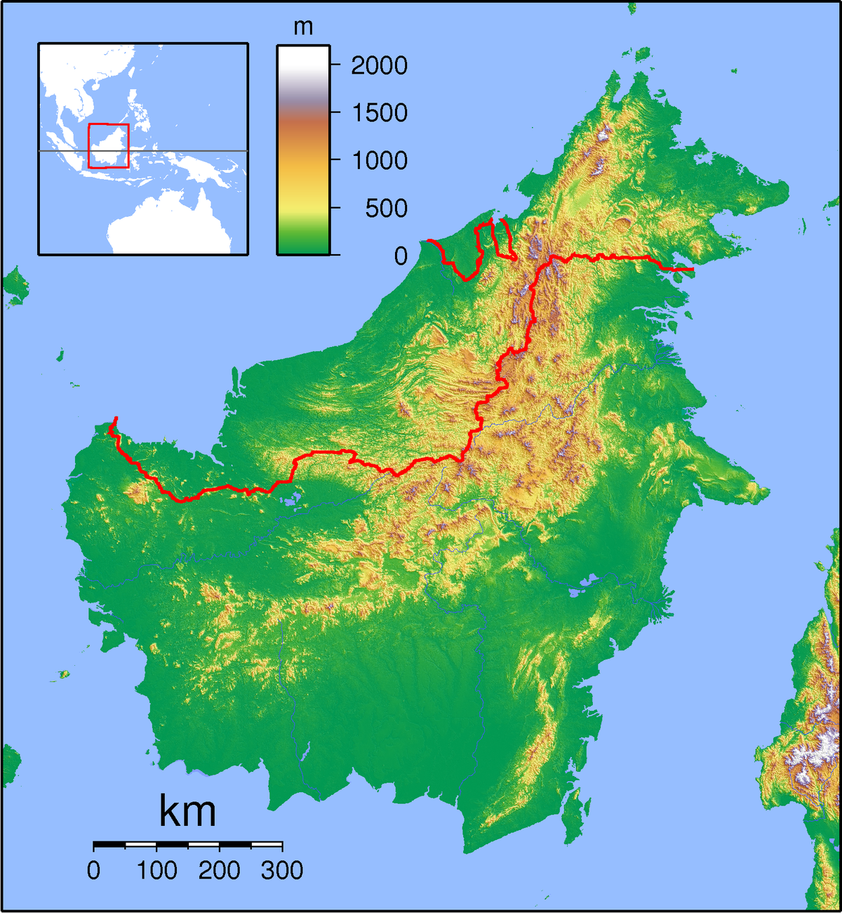 Example Site Map Location: Bintangor, Sarawak