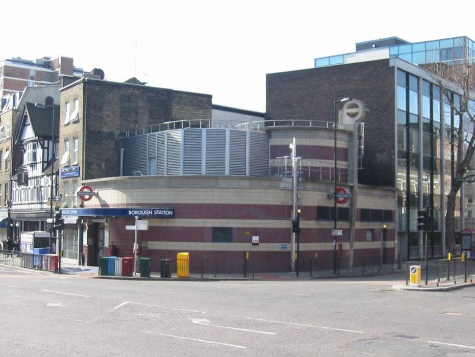 Borough tube station london