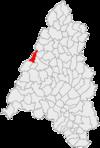 posizione comune nella contea di Bihor