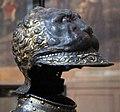 Bottega milanese, armatura dei leoni, probabilmente per francesco I di francia, 1540-45 ca. 05 elmo.jpg