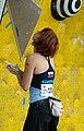 Boulder Worldcup Vienna 28-05-2010 quali-w005 Natalija Gros.jpg