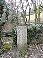 Boundary Stone at Bearland Bridge - geograph.org.uk - 1759950.jpg