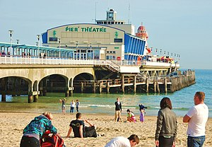 1960 in architecture - Image: Bournemouth, Pier Theatre geograph.org.uk 1804377