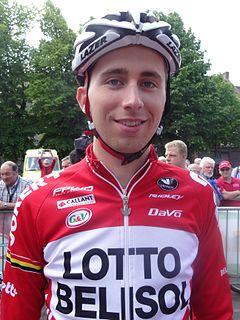 Amaury Capiot Belgian road cyclist