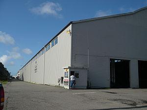 Brainard, California - The California Redwood Company mill in Brainard