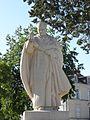 Brains-sur-les-Marches (53) Statue du cardinal Suhard 2.jpg