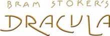 Description de l'image Bram Stoker's Dracula movie horizontal gold logo.png.