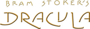 Bram Stoker's Dracula movie horizontal gold logo.png