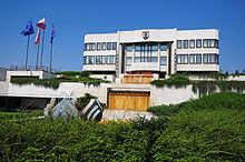 Gebäude des slowakischen Nationalrats