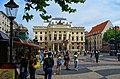 Bratislava - Hviezdoslavovo námestie - View ENE towards Slovak National Theatre.jpg
