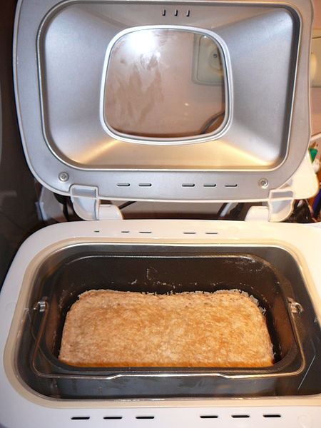 File:Bread machine with bread(1).jpg