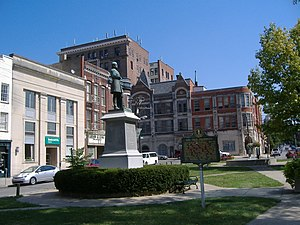 John C. Breckinridge Memorial - Image: Breckinridge Memorial 2