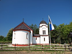 Serbian Orthodox church in Brekinja