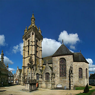 Saint-Thégonnec Parish close parish close located in Finistère, in France