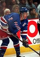 Brian Leetch New York Rangers 1997