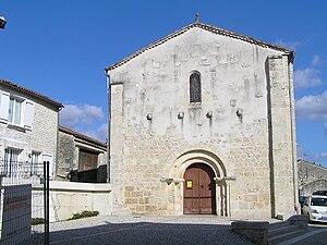 Brie, Charente - L'église Saint-Médard