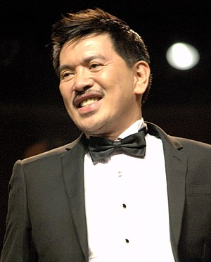 Brillante Mendoza at the 69th Venice International Film Festival, September 2012