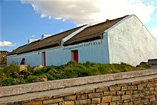 Traditional Irish Cottage In County Donegal Ireland