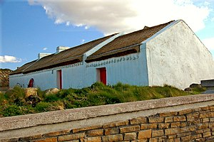 Cottage - Traditional Irish cottage in County Donegal, Ireland