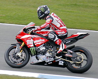 Broc Parkes - Parkes on a Milwaukee Yamaha Superbike in early 2015