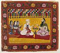 Brooklyn Museum - Nanda Requests a Horoscope for Krishna Page from a Bhagavata Purana series.jpg