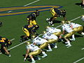 Bruins on offense at UCLA at Cal 10-25-08 02.JPG