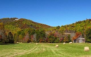 Brushy Mountains (North Carolina) mountain range